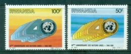 Rwanda 1985 UN 40th Anniv. MUH - Rwanda