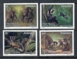 Rwanda 1988 Primates Of Nyungwe Forest MUH - Rwanda