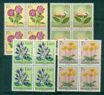 Ruanda-Urundi 1953 Flowers Asst Blks MLH/MUH - Rwanda