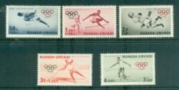 Ruanda-Urundi 1960 Summer Olympics Rome - Rwanda