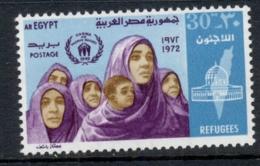 Egypt 1972 Refugees MUH - Egypt