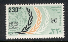 Egypt 1981 Fight Against Apartheid MUH - Egypt