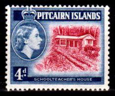 Pitcairn-0008 - Emissione 1958 (++) MNH - Senza Difetti Occulti. - Francobolli