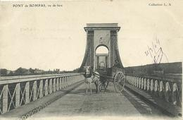 84)  BOMPAS  -  Pont De BOMPAS Vu De Face  (  Attelage   ) - Andere Gemeenten