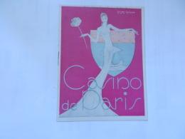 PROGRAMME CASINO DE PARIS SEPTEMBRE 1943 - Programs