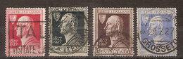"(Fb).Regno.V.E.III.1927. ""Volta"" Serie Completa Usata (53-18) - 1900-44 Vittorio Emanuele III"