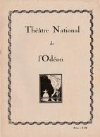Théâtre Odéon - Programme Illustré Andromaque 1922 - 16 Pages Avec Photos Comédiens Et Publicités - 13,5 X 18,5 Cm - Programs