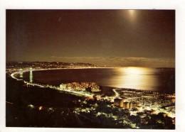CP 10*15-EP1532-LA BAIE DE CANNES AU CLAIR DE LUNE - Cannes