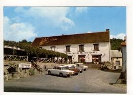 CP 10*15-EP1688-PONT DE MENAT AUBERGE DE MAITRE HENRI RESTAURANT AUTOMOBILES - France