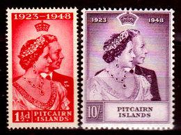 Pitcairn-0003 - Emissione 1949 (++/+) MNH/LH - Senza Difetti Occulti. - Francobolli