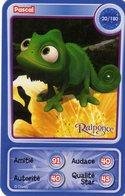 Carte Disney Pixar 2012 Auchan Neuve Raiponce Pascal 20/180 - Disney