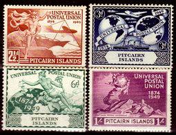 Pitcairn-0004 - Emissione 1949 (++) MNH - Senza Difetti Occulti. - Pitcairn