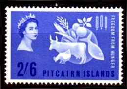 Pitcairn-0010 - Emissione 1963 (++) MNH - Senza Difetti Occulti. - Francobolli