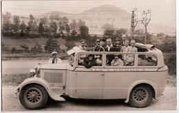 CARTE PHOTO AUTOBUS DE LOURDES - Bus & Autocars