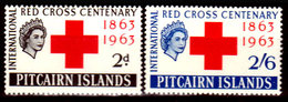 Pitcairn-0011 - Emissione 1963 (++) MNH - Senza Difetti Occulti. - Francobolli