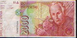 ESPAGNE : 2000 Pesetas (24/04/1992) - [ 4] 1975-… : Juan Carlos I