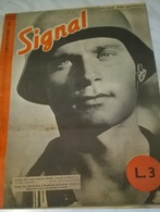 SIGNAL 2° NUMERO DI SETTEMBRE 1943 FESTA NAZIONALE SERBA - Libri, Riviste, Fumetti