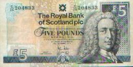 ECOSSE  - 5 Livres 2010 - Scozia