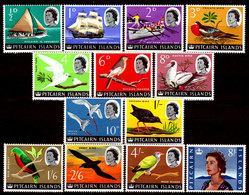 Pitcairn-0012 - Emissione 1964-65 (++) MNH - Senza Difetti Occulti. - Francobolli