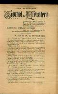 (BRUXELLES – 1905) Tournoi De Chevalerie Reconstitué Pour Le 75e Anniversaire De L'indépendance - Programmi