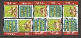 Belgique 2006 -Happy Birthday - Anniversaire - Série Complète De Carnet - Petit Lot De 10 ° - 6 Timbres Différents - Belgique