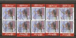 Belgique 2007 - Port De Zeebrugge - Série Complète De Carnet - Petit Lot De 10 ° - 4 Timbres Différents - Belgique
