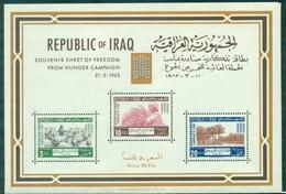 IRAK BF N° 4 Nxx 1963 Campagne Contre Le Faim Tb. - Iraq