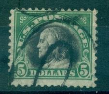 USA N° 223 Oblitéré Cote 40 € . Légère Froissure Et Pli . - Vereinigte Staaten
