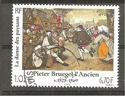 France 2001 YV. N°3369 - Oblitéré - Francia