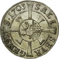 Monnaie, AUSTRIAN STATES, SALZBURG, Johann Ernst, Kreuzer, 1703, SPL+, Argent - Autriche