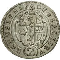 Monnaie, AUSTRIAN STATES, SALZBURG, Johann Ernst, 2 Kreuzer, 1/2 Reichsbatzen - Autriche