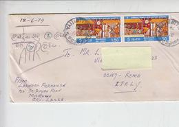 SRI LANKA  1979 - Yvert  470 -  Lettera Per Italia - Sri Lanka (Ceylon) (1948-...)