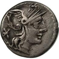 Monnaie, Fabia, Denier, Rome, TTB, Argent, Crawford:268/1a - Roman