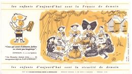 Buvard Vloeipapier - Pain D'épices - Les Enfants D'aujourdhui - Sucreries & Gâteaux