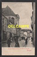 DD / 21 CÔTE D'OR / BEAUNE / LA RUE CARNOT , L' ORATOIRE ET LA PORTE ST. NICOLAS / ANIMÉE / CIRCULÉE EN 1903 - Beaune