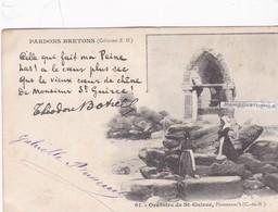 PLOUMANAC'H - Dépt 22 - Oratoire De St-Guirec (poème De Th. Botrel) - Oblitérée En 1902 - Ploumanac'h
