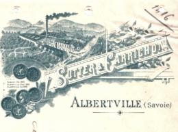 SUTTER & CARRICHON       Albertville (Savoie)             Fiscal 1900 - Cambiali