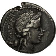 Monnaie, Egnatia, Denier, Rome, TTB, Argent, Crawford:391/3 - Romaines