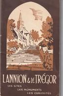 Rare Livret Touristique Lannion Et Le Trégor Bretagne 1955 - Dépliants Touristiques