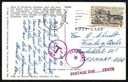 B7222 - Cleveland Nach Deutschland Stempel - Vereinigte Staaten