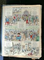 IMAGERIE PELLERIN D'EPINAL - VOYAGE BURLESQUE DANS LA CAPITALE - N°2 - Série Aux Armes D'Epinal N°175 - Old Paper