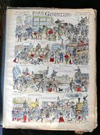 IMAGERIE PELLERIN D'EPINAL - PARIS GROUILLANT (Illust. DRANEP)- Série Aux Armes D'Epinal N°325 - - Old Paper