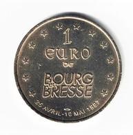 1 Euro Des Villes -  Bourg En Bresse 1997 - Euros Of The Cities