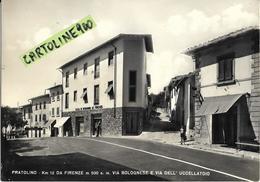 Toscana-firenze-pratolino Via Bolognese Veduta Case Negozi Banca Scolaretto Via Dell'uccellatoio Animata - Italia