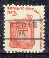 USA Precancel Vorausentwertung Preo, Locals Virginia, Aldie 834,5 - Vorausentwertungen
