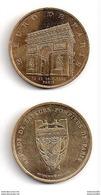 2 Euro Des Villes -  Paris Sapeurs Pompiers 1996 - Euros Of The Cities