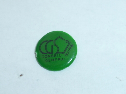 Pin's CONSEIL GENERAL DE GUYANNE VERT - Administrations