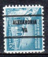 USA Precancel Vorausentwertung Preo, Bureau Virginia, Alexandria 1031A-81 - Vorausentwertungen