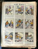 IMAGERIE PELLERIN D'EPINAL - LOGÉ GRATIS (Illustr. COLL-TOC) - Série Aux Armes D'Epinal N°206 - - Old Paper