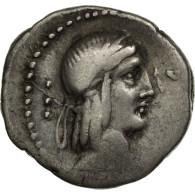 Monnaie, Calpurnia, Denier, Rome, TB+, Argent, Crawford:340/1 - Roman